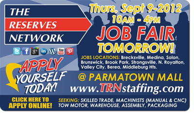 TRN Job Fair Parmatown Mall