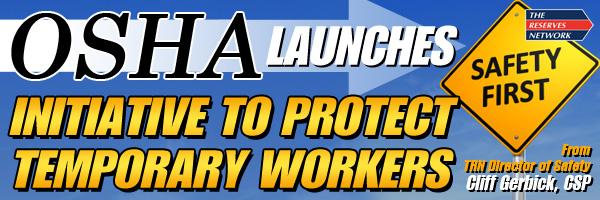 OSHA Temporary Safety